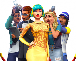 TS4 Get Famous